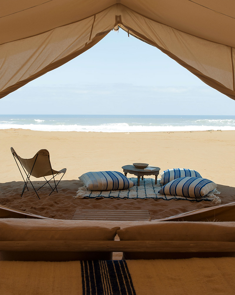azalai-accueil-beachcamp-Oualidia-Tente